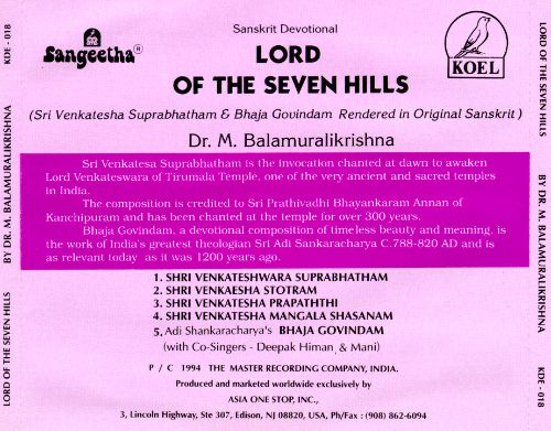 Lord of the Seven Hills