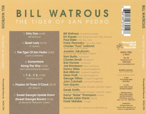 The Tiger of San Pedro
