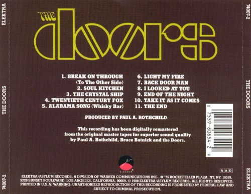 The Doors The Doors Album Pick