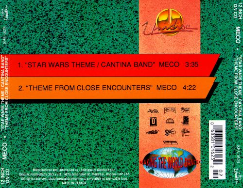 Star Wars Theme/Cantina Band/Theme from Close Encounters