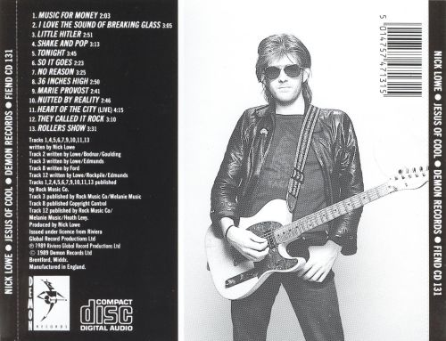 jesus of cool nick lowe songs reviews credits allmusic