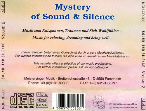 Mystery of Sound and Silence, Vol. 2