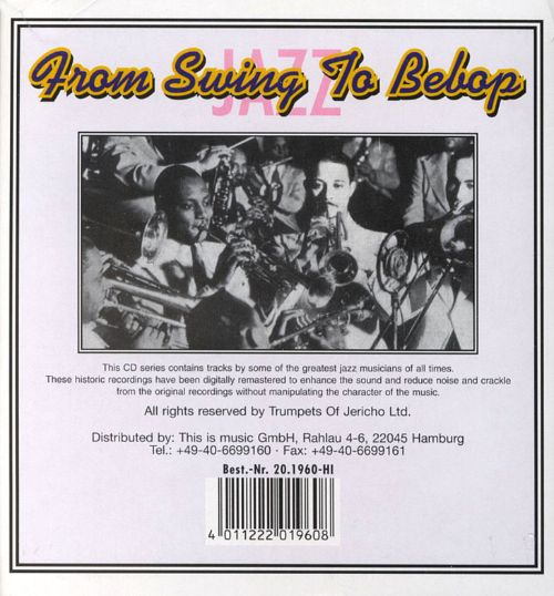 From Swing to Bebop