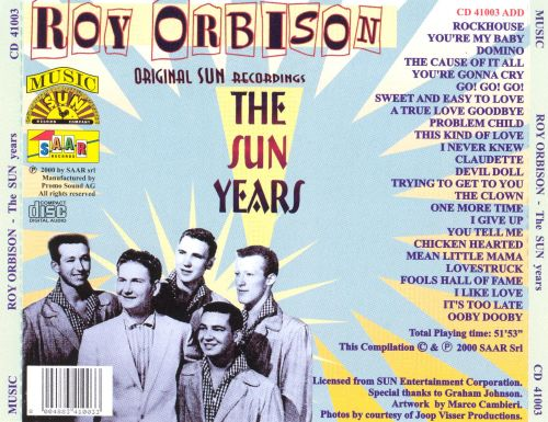 The Sun Years [Original Sun Recordings]
