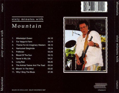Sixty Minutes with Mountain