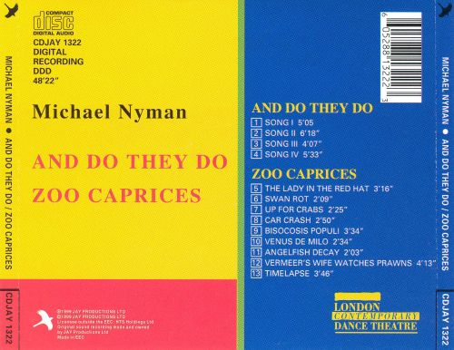 And Do They Do/Zoo Caprices