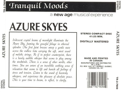 Tranquil Moods: Azure Skies