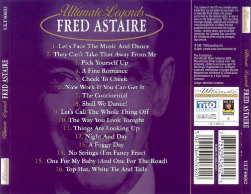 Ultimate Legends: Fred Astaire