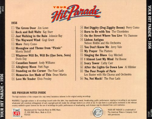 Your Hit Parade: 1956