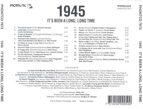 It's Been a Long, Long Time: 1945