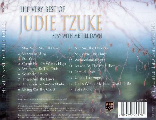 The Very Best of Judie Tzuke: Stay With Me Till Dawn