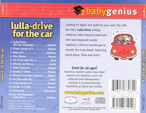 Lulla: Drive for the Car [1999]
