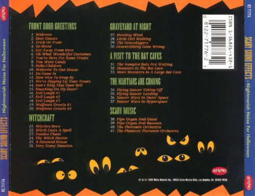 Scary Sound Effects - Various Artists | Similar | AllMusic