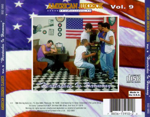 American Jukebox Classics, Vol. 9: Heartaches In Harmony