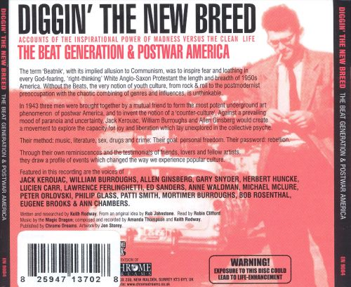 Diggin the New Breed: The Beat Generation & Post War America