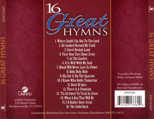 16 Great Hymns