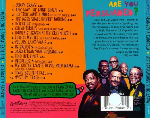 Frankly a Cappella: The Persuasions Sing Zappa