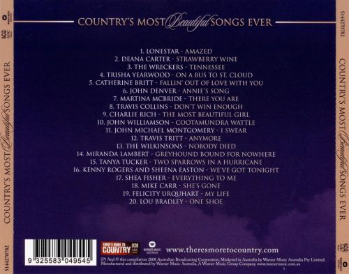 Country's Most Beautiful Songs Ever