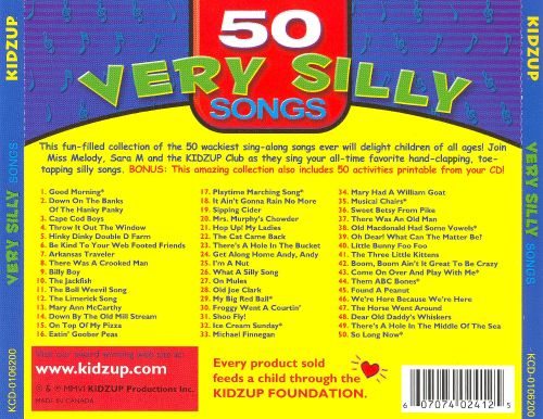 50 Very Silly Songs