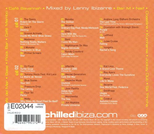Chilled Ibiza 2 Various Artists Songs Reviews