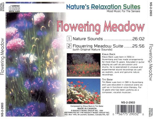 Nature's Relaxation Suites: Flowering Meadow