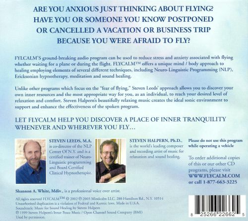 Flycalm: A Sound Solution for Stress Free Flying
