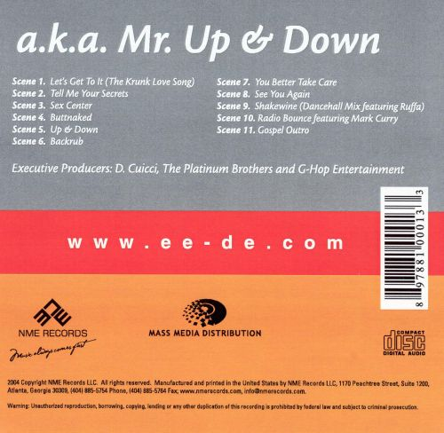 A.K.A. Mr. Up & Down