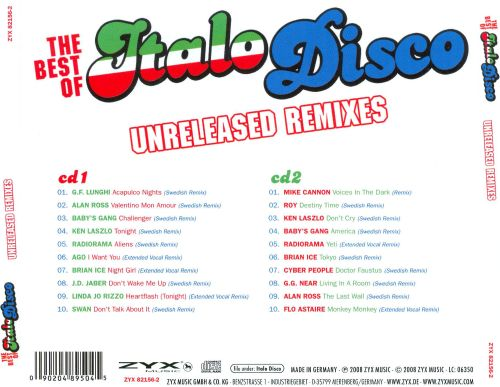 The Best of Italo Disco: Unreleased Remixes