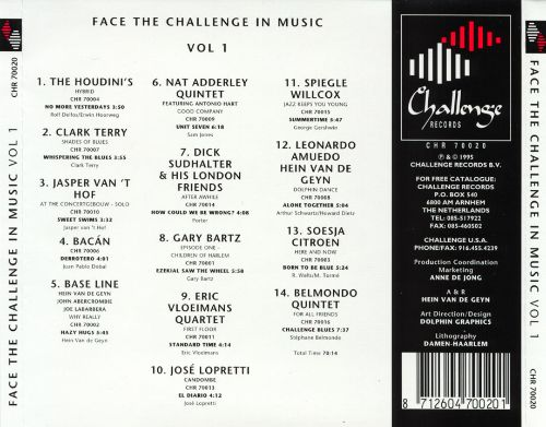 Face the Challenge in Music, Vol. 1