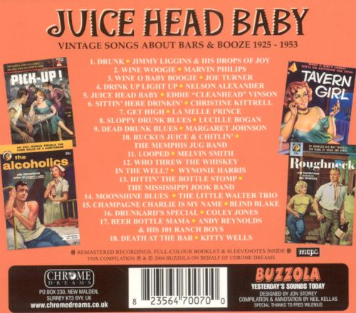 Juice Head Baby: Vintage Songs About Booze and Bars 1925-1952