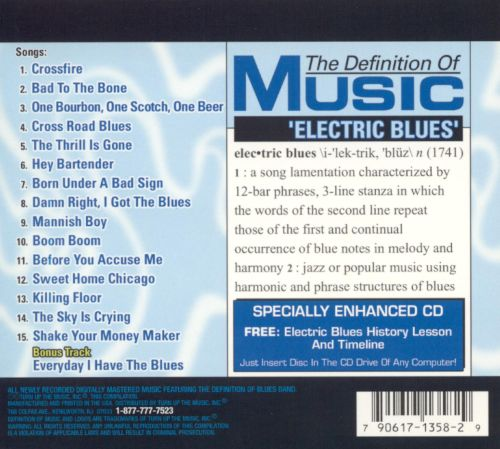 Definition of Music: Electric Blues