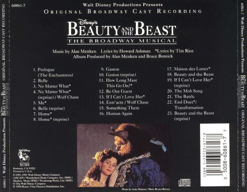 Beauty and the Beast [Original Broadway Cast Recording]