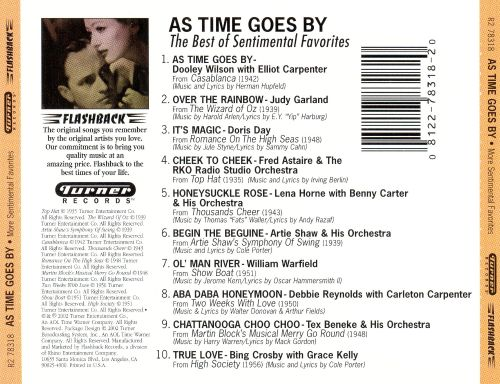 As Times Goes By: The Best of Sentimental Favorites