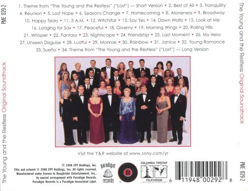 Young and the Restless [Television Soundtrack]