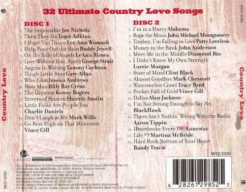 Country Love [Madacy 2007]