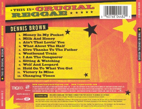 This Is Crucial Reggae: Dennis Brown