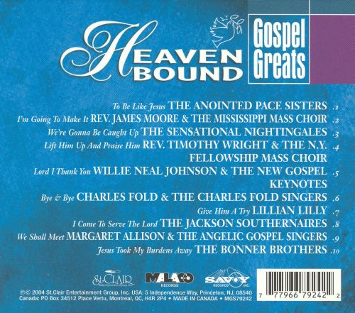 Gospel Greats: Heaven Bound