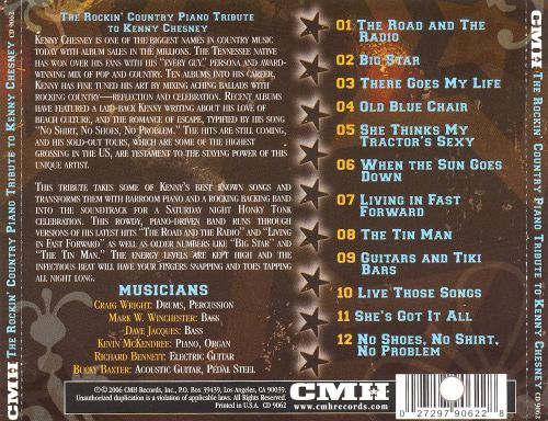 The Rockin' Country Piano: Tribute to Kenny Chesney