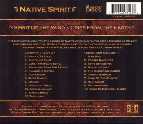 Native Spirit: Spirit of the Land/Cries from th