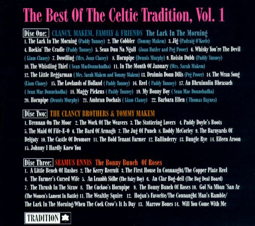 The Best of the Celtic Tradition, Vol. 1