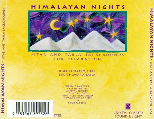 Himalayan Nights: Sitar & Tabla Backgrounds for Relaxation