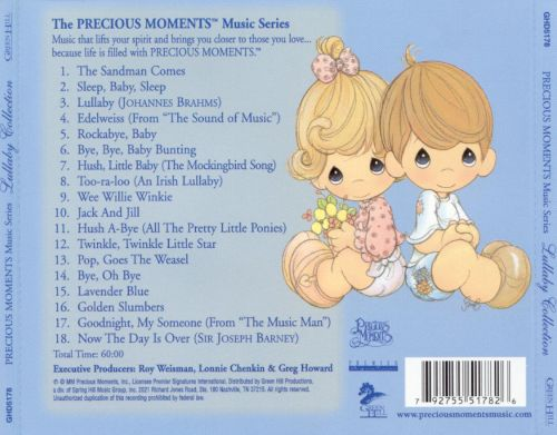 Precious Moments Lullaby Collection Vol 1 Various