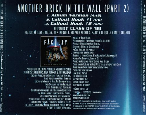 Another Brick In The Wall Part 2 US