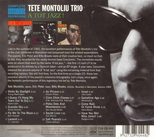A Tot Jazz: Complete Concentric 1965