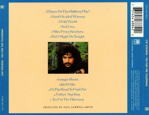 Tea For The Tillerman Cat Stevens Songs Reviews Credits Allmusic