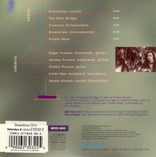 Dreamtime [Limited Edition]