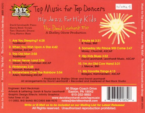 Tap Music for Tap Dancers, Vol. 4: Hip Jazz for Hip Kids