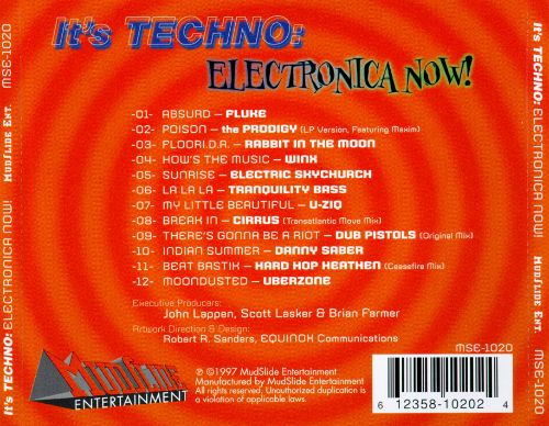 It's Techno: Electronica Now