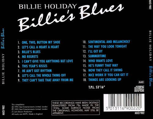 Billie's Blues [Start]