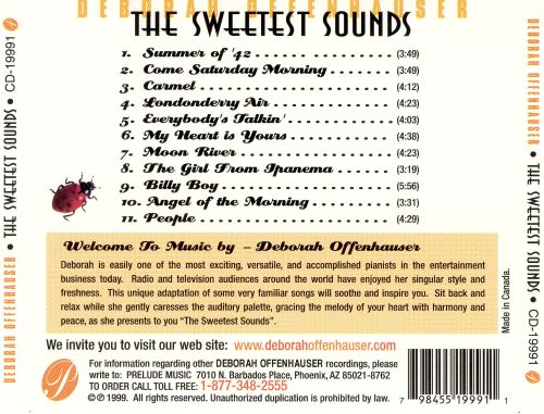 Sweetest Sounds: Soothing Solo Piano